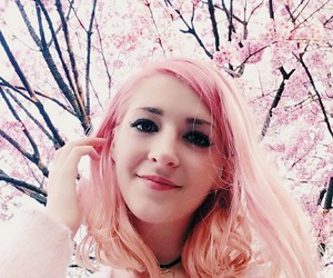 aesthetic, cherry blossom, and edit image