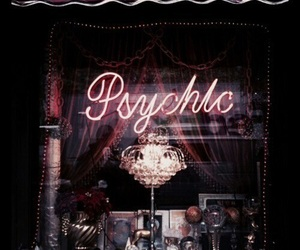 psychic, theme, and dark image