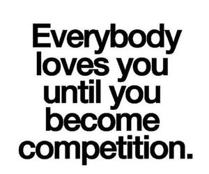 quote, competition, and love image