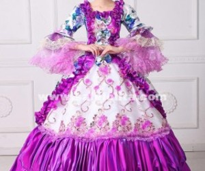 masquerade ball gown, marie antoinette dress, and rococo victorian dress image