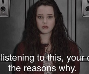 13, 13 reasons why, and hannah baker image