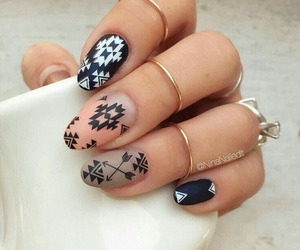 girl, nails, and beautiful image
