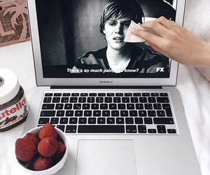 american horror story, nutella, and tate image