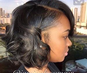 braids, curls, and box braids image