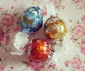chocolate, rosy, and lindt image