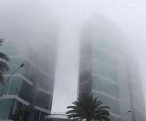 buildings, fog, and peru image