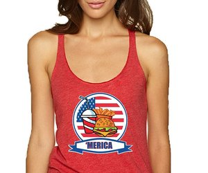 american, july 4th, and tanktop image