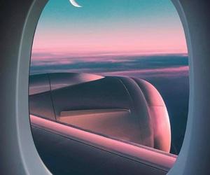 adventure, destination, and airplane image