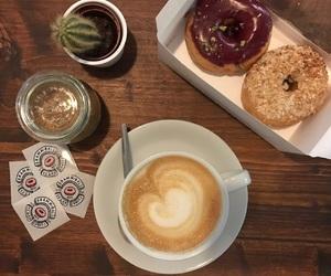 donut, wochenende, and Kaffee image
