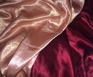 pink, red, and silk image