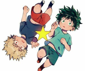 anime, boku no hero academia, and art image