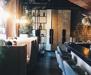 cafe, coffee shop, and design image