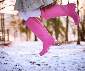 boot, boots, and pink image