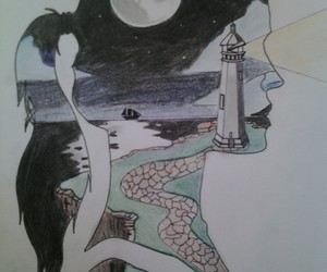 art, dessin, and girl image