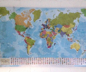 travel map, can't wait, and wanderlust image