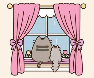 cats, kawaii, and pusheen image