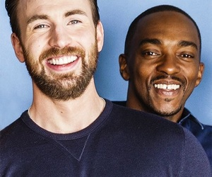 Avengers, chris evans, and anthony mackie image