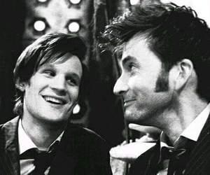 doctor who, matt smith, and david tennant image