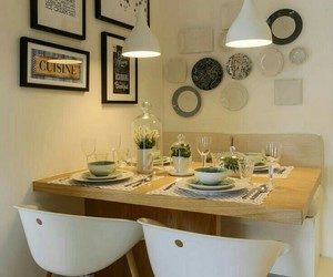 beauty, dinner, and deco image