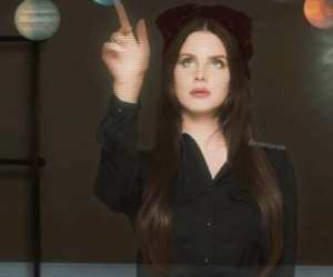 lana del rey, lust for life, and Queen image