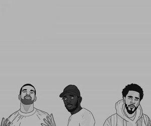 Drake, j cole, and kendrick lamar image