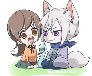 anime, chibi, and anime couple image
