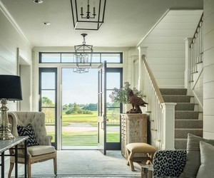 country living, farmhouse, and foyer image