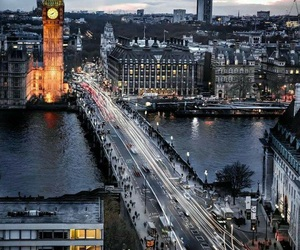 cities, london, and places image