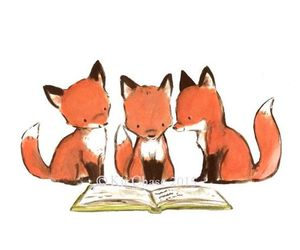 etsy, red fox, and vermillion image