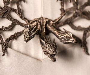 accessories, fashion, and dragon image