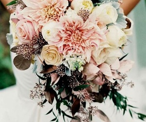 beatiful, flowers, and bouquet image