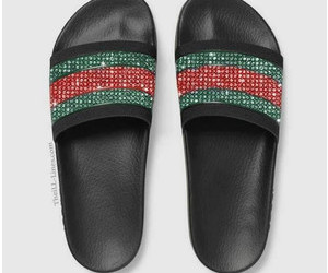 custom shoes, etsy, and gucci sandals image