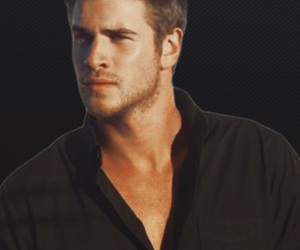liam hemsworth, sexy, and the hunger games image