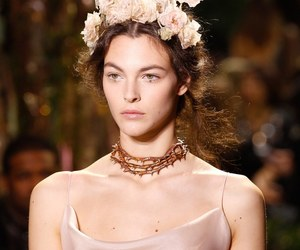 choker, flower, and necklace image