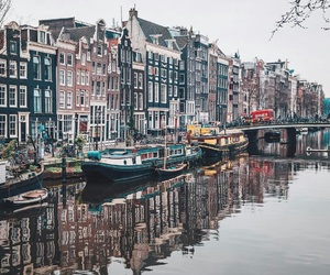 city, adventure, and amsterdam image