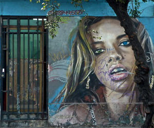 chile, art, and grafitti image