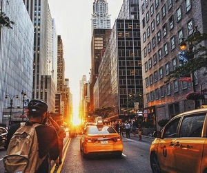 city, life, and new york image