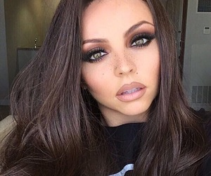 green eyes, long hair, and jesy nelson image