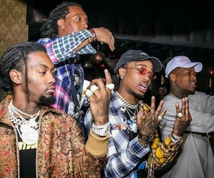 rappers, migos, and yg image