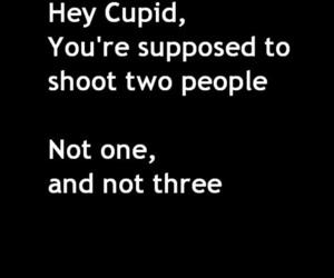 cupid, heartbreak, and heartbroken image