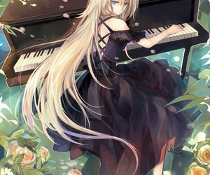 vocaloid, anime, and ia image