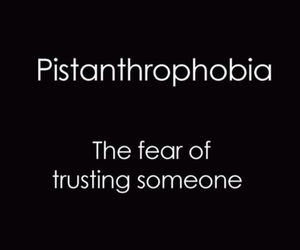 trust, fear, and quotes image