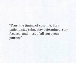 trust, life, and quotes image