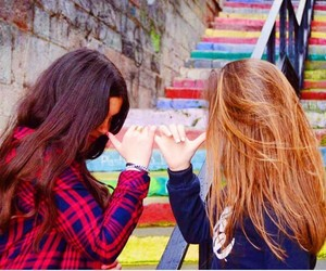 amigas, best friends, and bff image