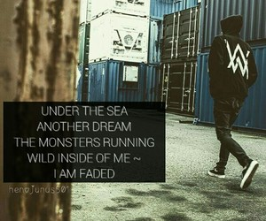 fade, faded, and alan walker image
