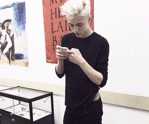 boy, lucky blue smith, and Hot image