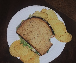 alternative, chips, and food image