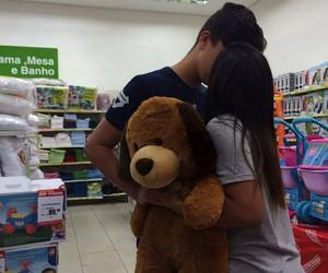 couple, bear, and cute image