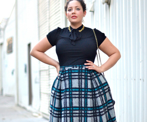 curvy, fashion, and look image