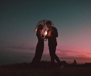 love, light, and night image